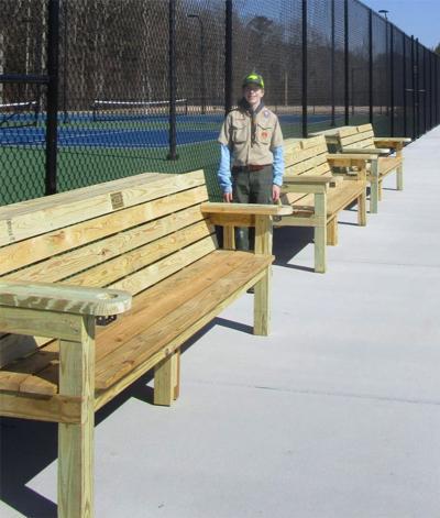 Eagle benches