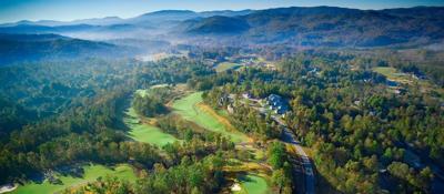 Golfing in Hendersonville