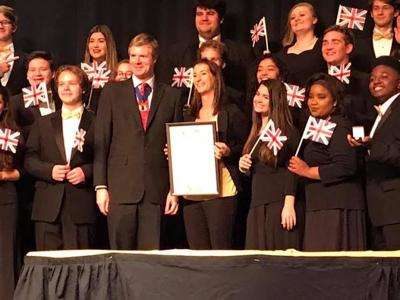 HHS band and select choir to perform in London