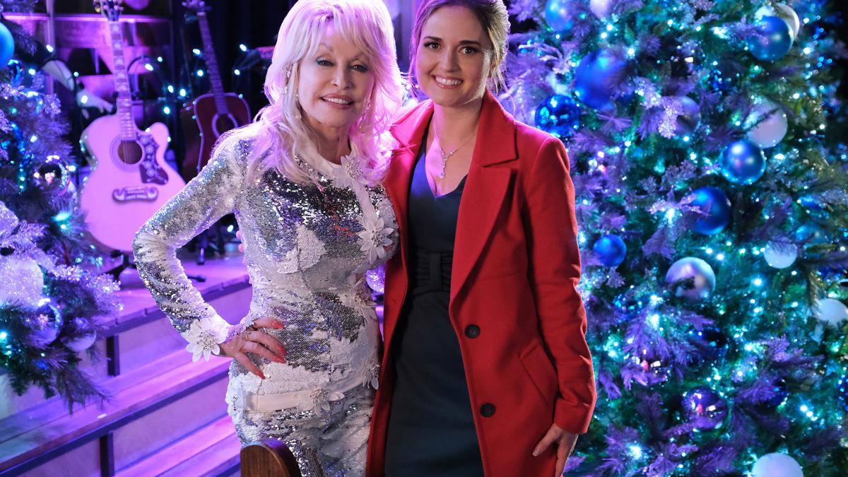 McKellar visits Parton's 'home' for the holidays