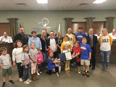 Sumner County goes gold for pediatric cancer research