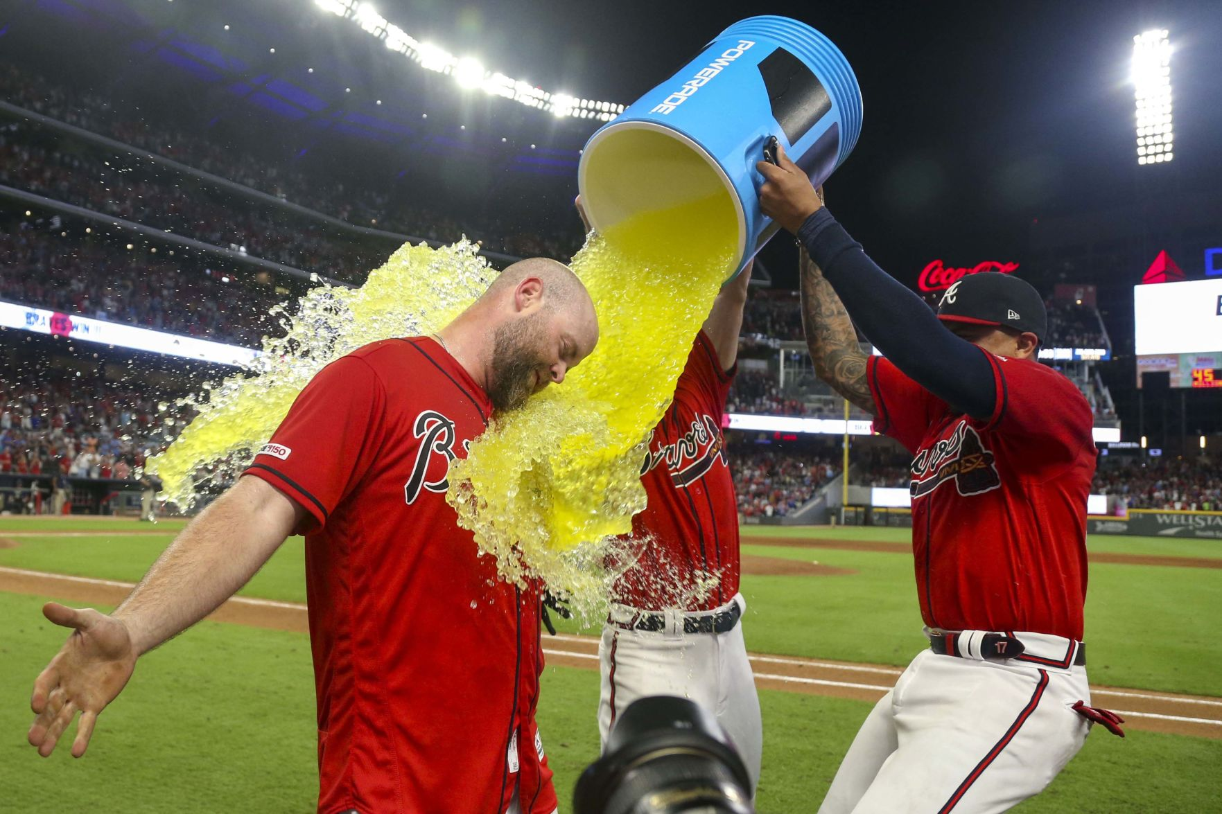 MLB: Philadelphia Phillies at Atlanta Braves