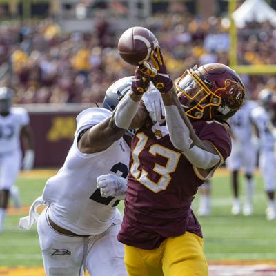 NCAA Football: Georgia Southern at Minnesota