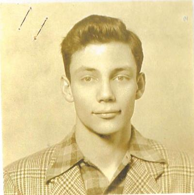 A very young new doctor, John G. Lane, Jr..JPG