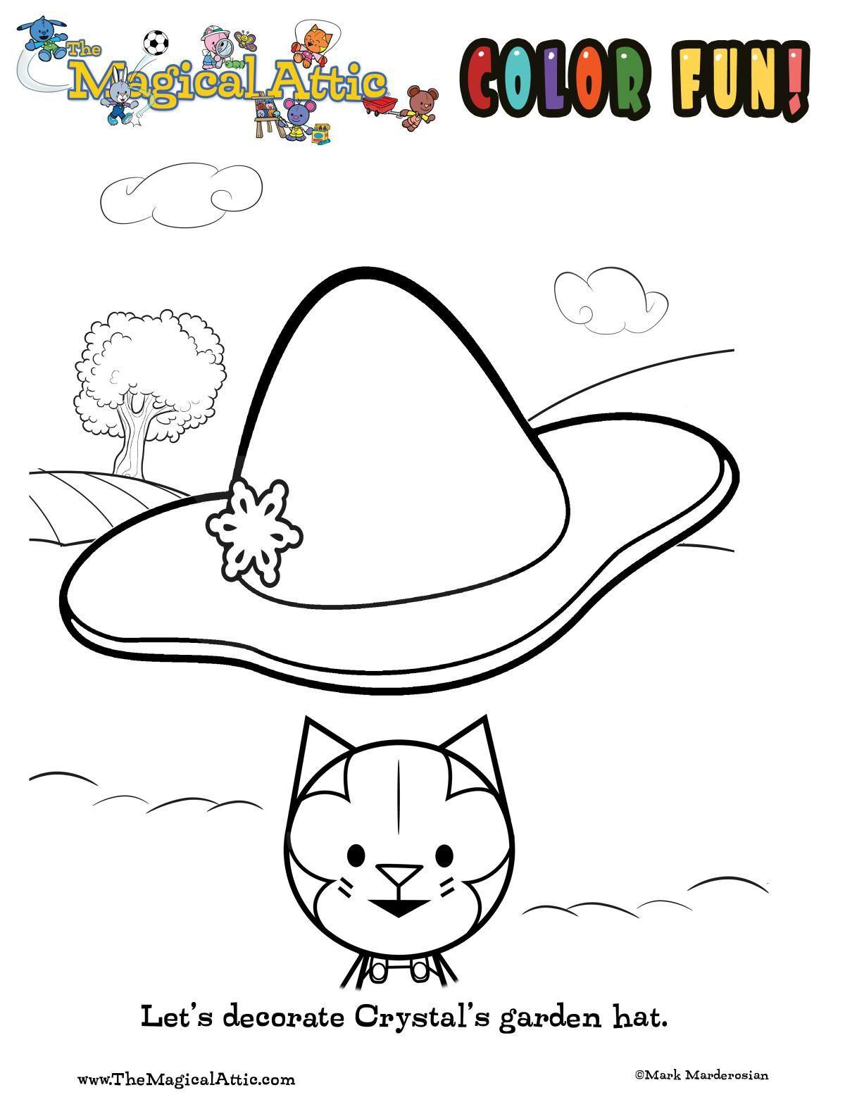 Coloring with Crystal Cat