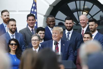 MLB: World Series Champions Boston Red Sox-White House Visit
