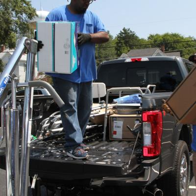 Henry Rotary holds medical equipment collection