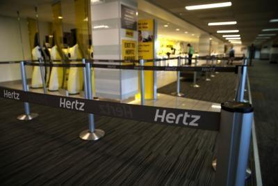 Hertz files for bankruptcy