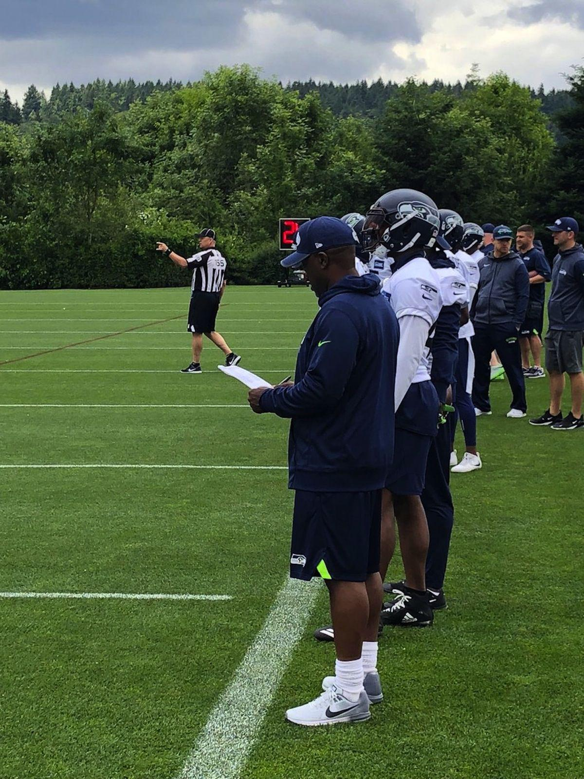 FOOTBALL: Stockbridge head coach Kevin Whitley reflects on mini-camp experience with Seattle Seahawks