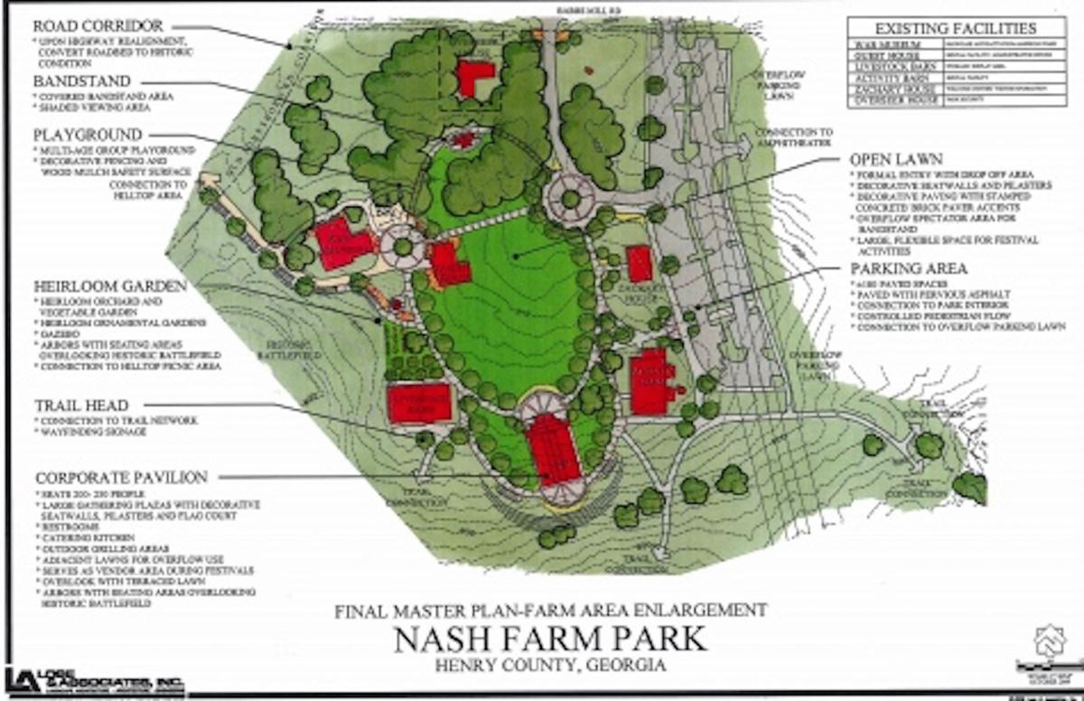 Master Plan For Nash Farm Park Up For Approval News Henryherald Com