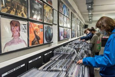 Vinyl record sales surpass CDs for the first time since the 1980s