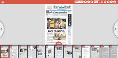 HDH home page e-edition - personal computer