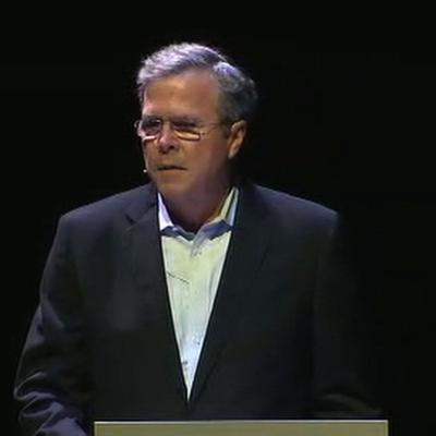 Jeb Bush says a Republican should challenge Trump in 2020