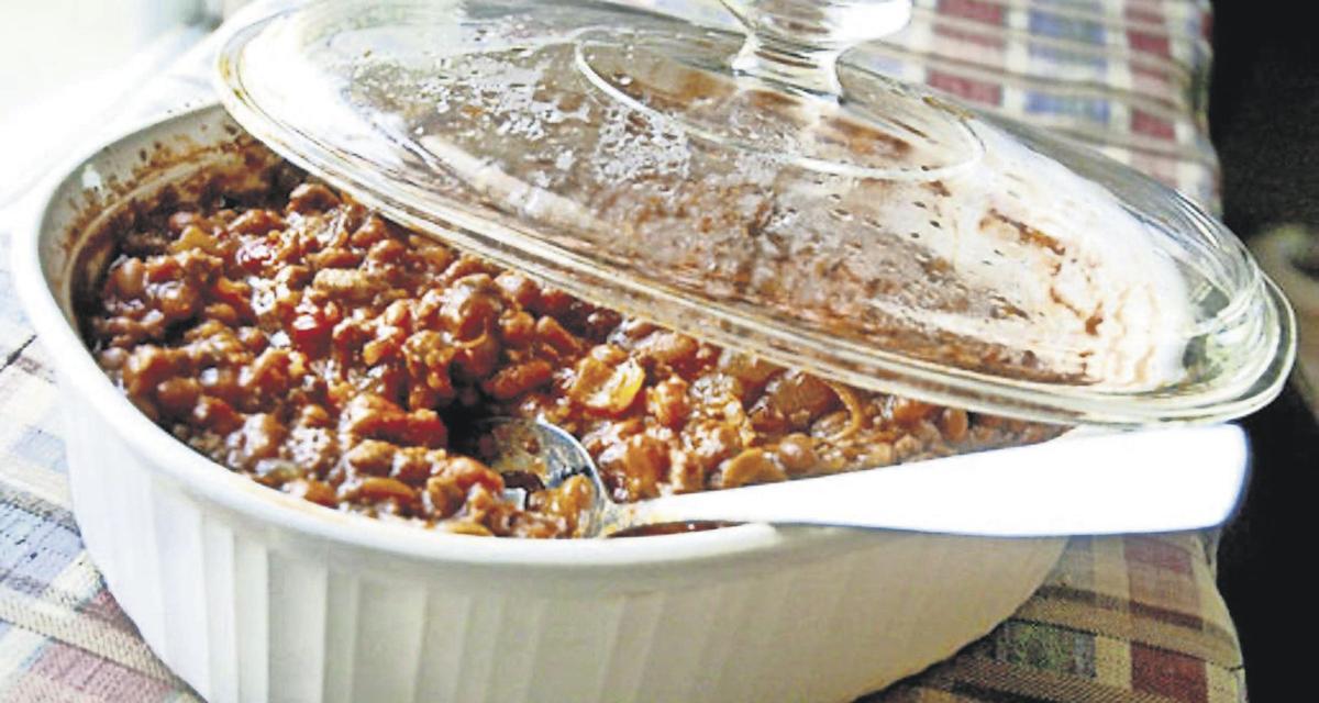 Bourbon and Coke Baked Beans