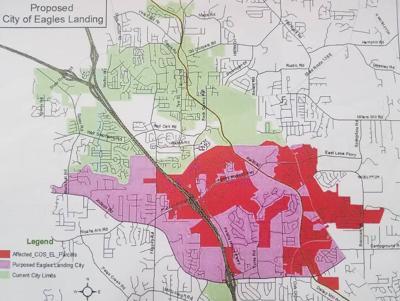 Georgia residents, legislators urged by Stockbridge reps to stand against 'unprecedented' city of Eagle's Landing proposal