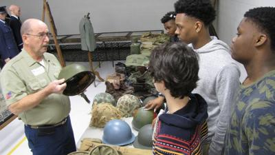 Veterans give military history lessons from personal collection