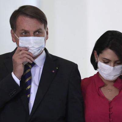 Brazil's Bolsonaro says he has 'mold' in his lungs as his wife tests positive for Covid-19