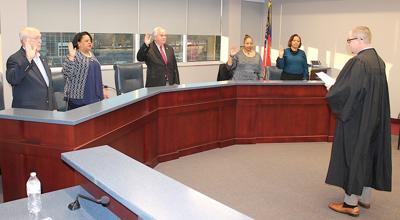 Henry County Water Authority board members sworn in to begin terms in 2019