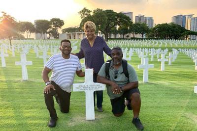 American Legion Post at Hatcher gravesite in Philippines, ceremonies to follow