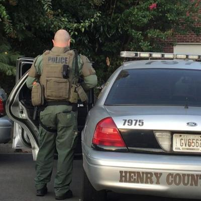 VIDEO: Henry County SWAT officer after armed standoff