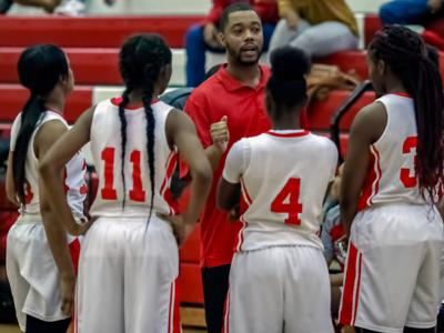 Girls Basketball Coach of the Year: Roy Johnson, Woodland (copy)