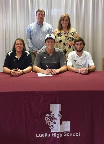Luella's Drew McCullers becomes first to earn golf scholarship in school history