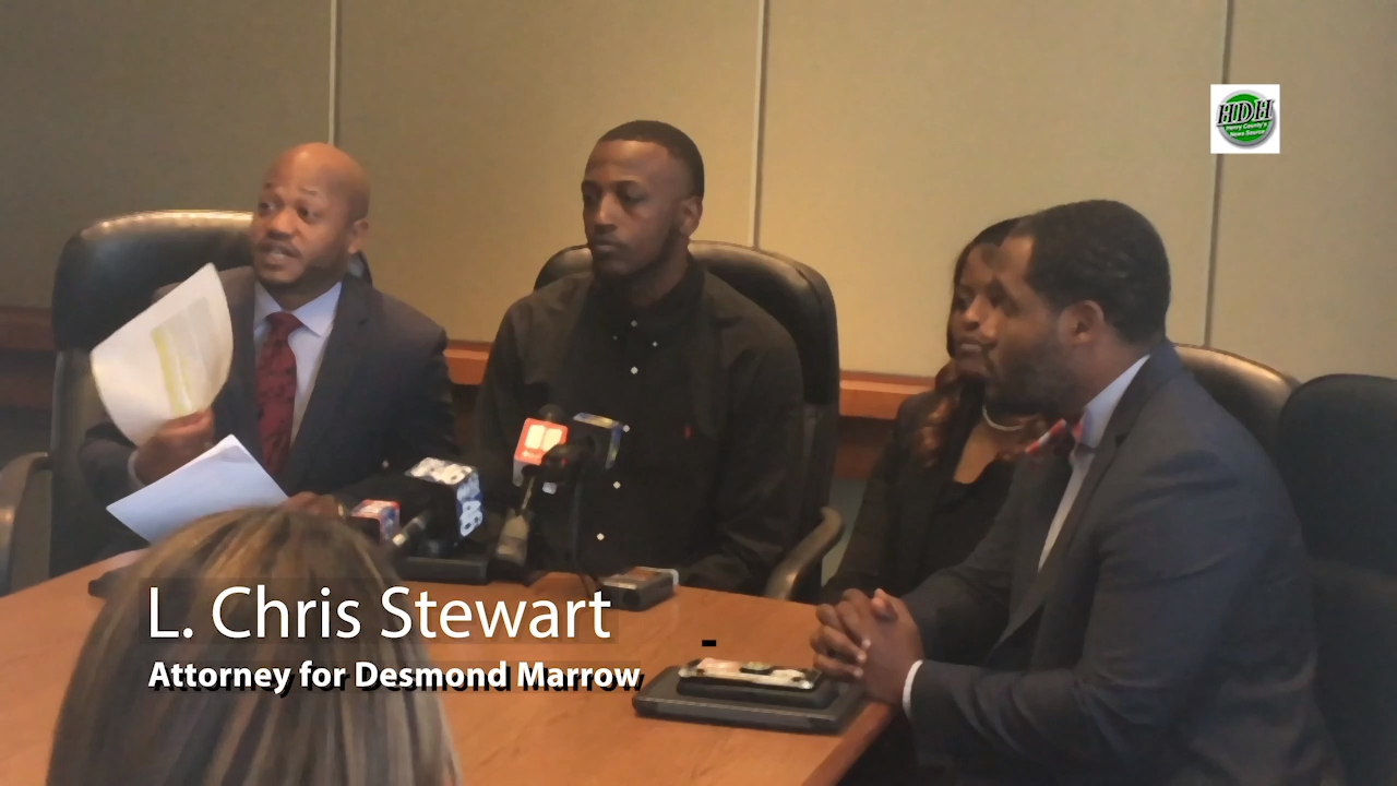 VIDEO: Marrow's attorney says federal agent's statement left out of investigations