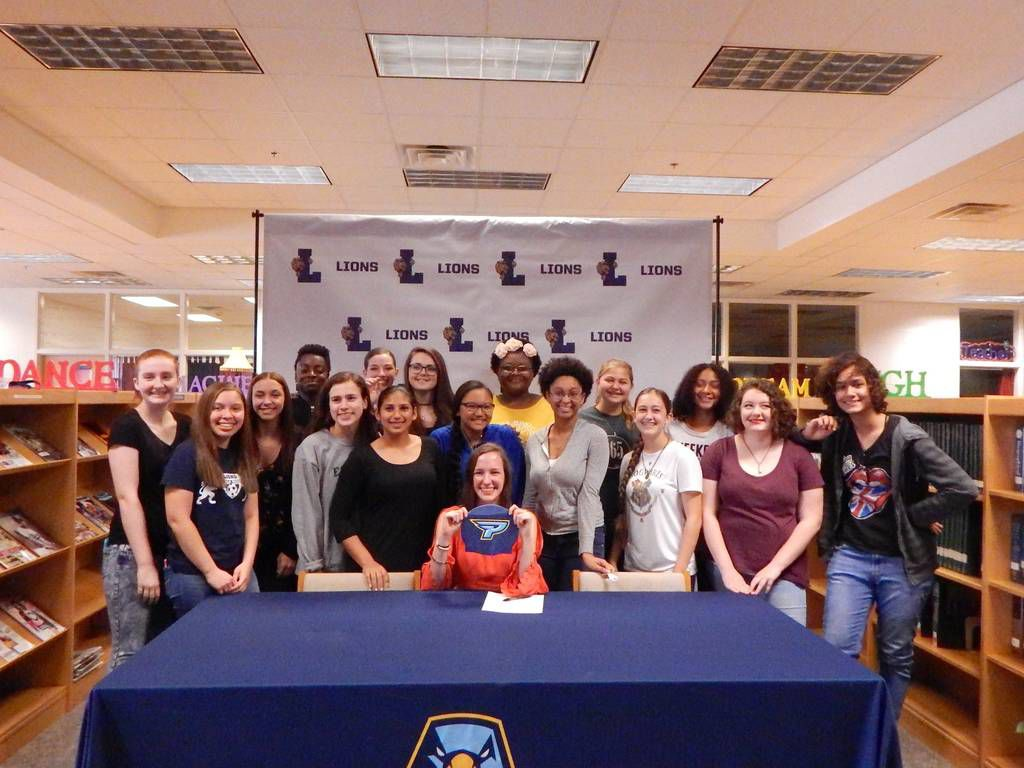 Luella's Brittany Morris becomes first from Henry County public school to  sign swimming scholarship | Sports | henryherald.com