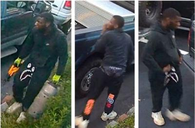 Henry County Police seek Stockbridge catalytic converter theft suspect with unique fashion sense