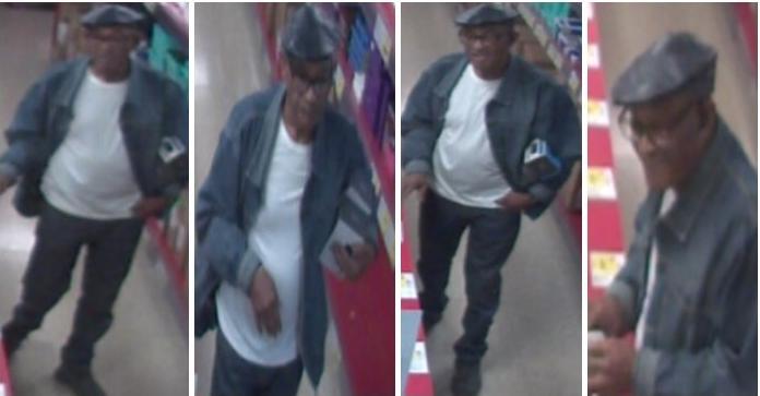 Stockbridge BrandsMart shoplifting suspect on Henry County Police naughty list