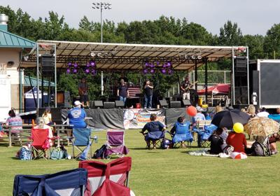 Henry celebrates Independence Day with fireworks, music and entertainment