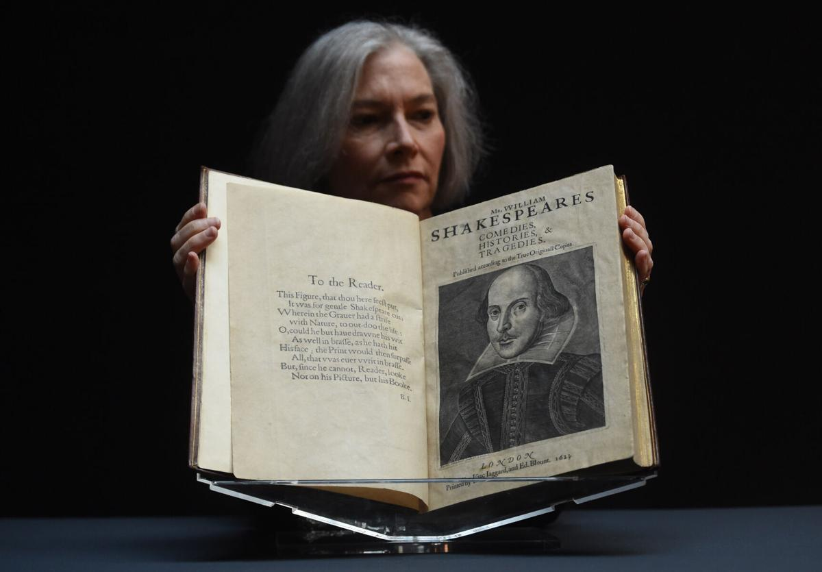 Rare copy of Shakespeare's First Folio sells for record $10M