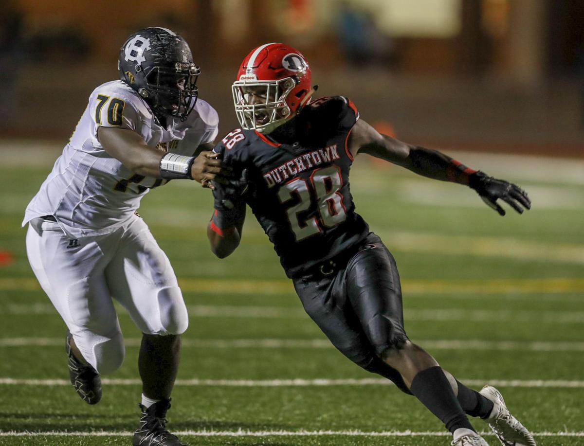 STATE FOOTBALL: Dutchtown High dismantles Harris County in 35-0 blowout (copy)