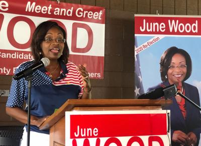 June Wood to seek re-election