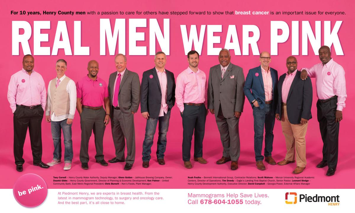 c66e412f9a8 Hospital kicks off Real Men Wear Pink campaign for Breast Cancer Awareness  Month