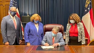 Gov. Brian Kemp signs Georgia Senate Bill 22 into law
