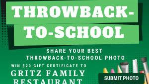 "Share your favorite ""Throwback-to-school"" photo with us"