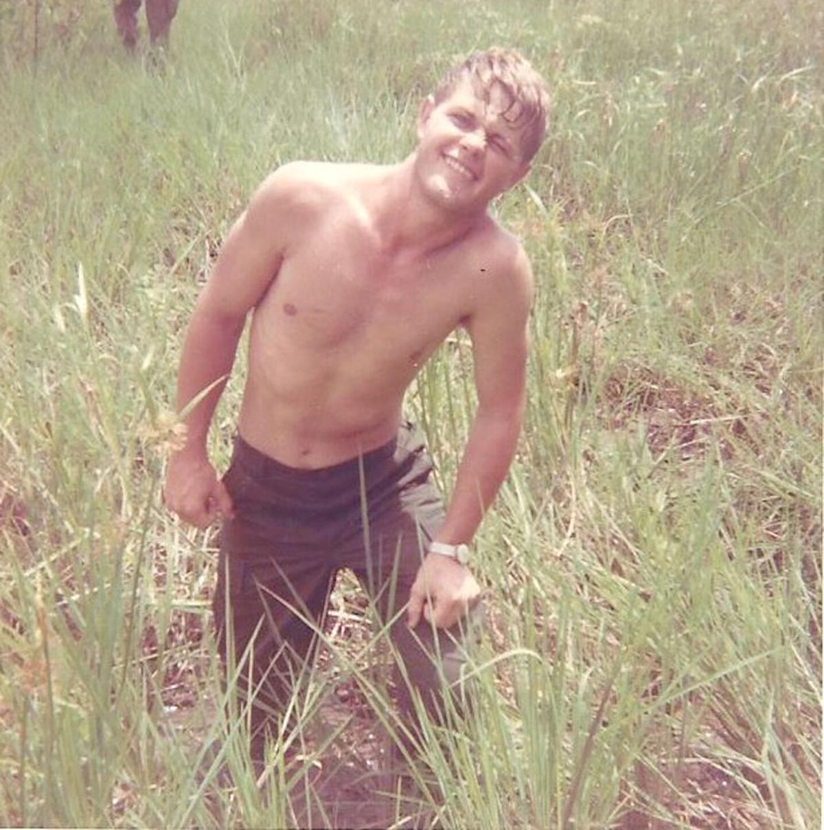 Young Doug Garner in Vietnam