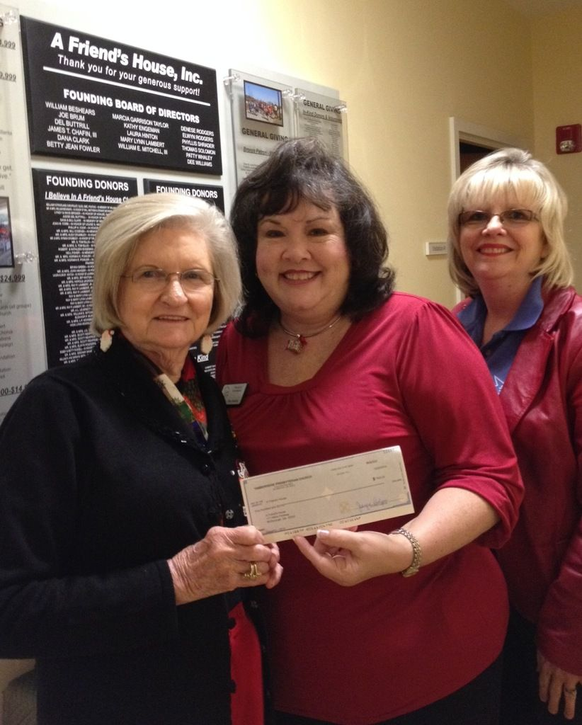 McDonough church gives support to four local charities
