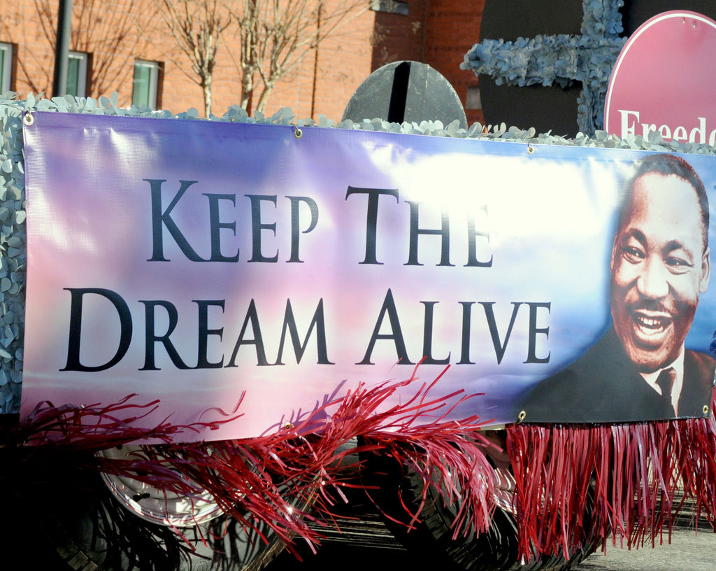 Martin Luther King Day Celebration Kicks Off With A Parade