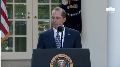 VIDEO: Watch Monday's White House coronavirus task force press conference