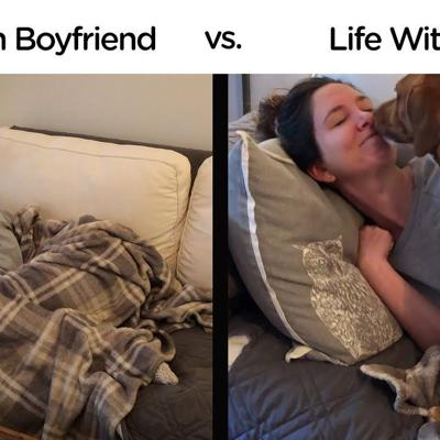 Life With Boyfriend vs. Life With Dog | The Dodo