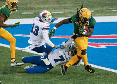 NCAA Football: Baylor at Kansas