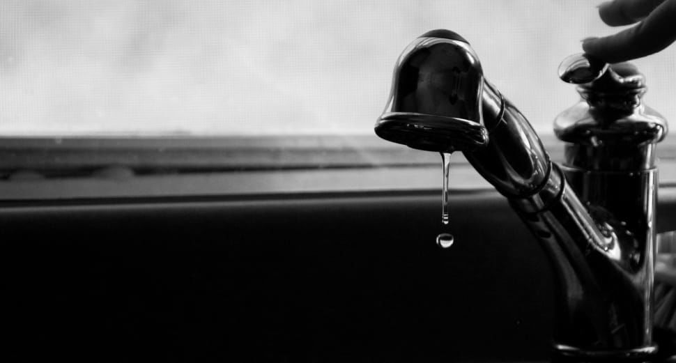 Let those faucets drip.