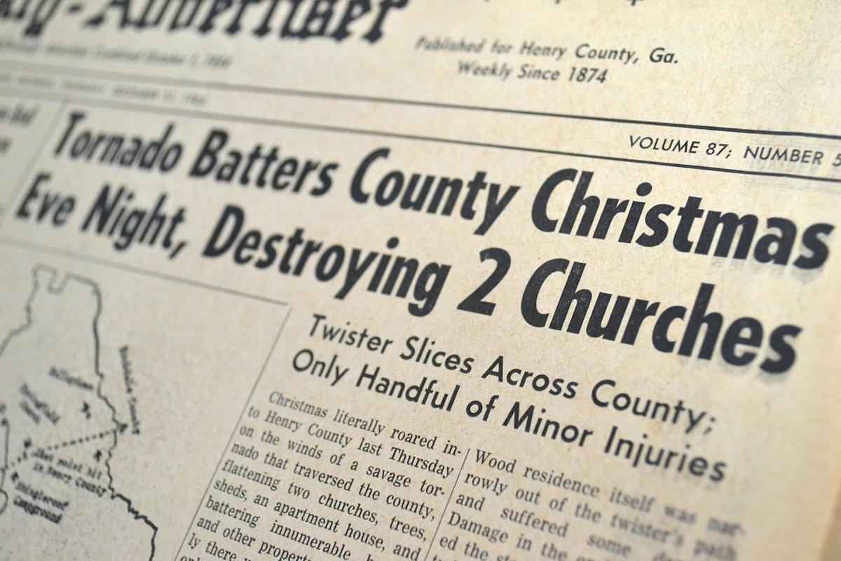 Henry County devastated 50 years ago by Christmas Eve tornado ...