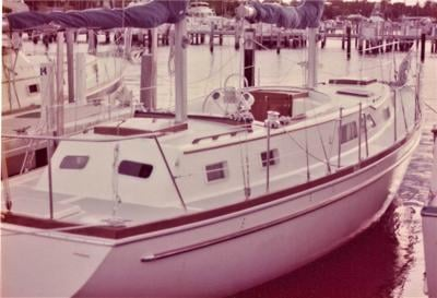 The yatch Dr. Lane donated to the Boys Club.JPG