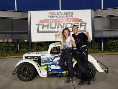 Ladies put on a show, find victory lane at AMS | Sports