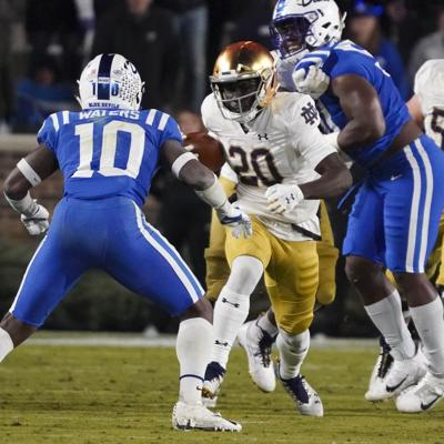 NCAA Football: Notre Dame at Duke