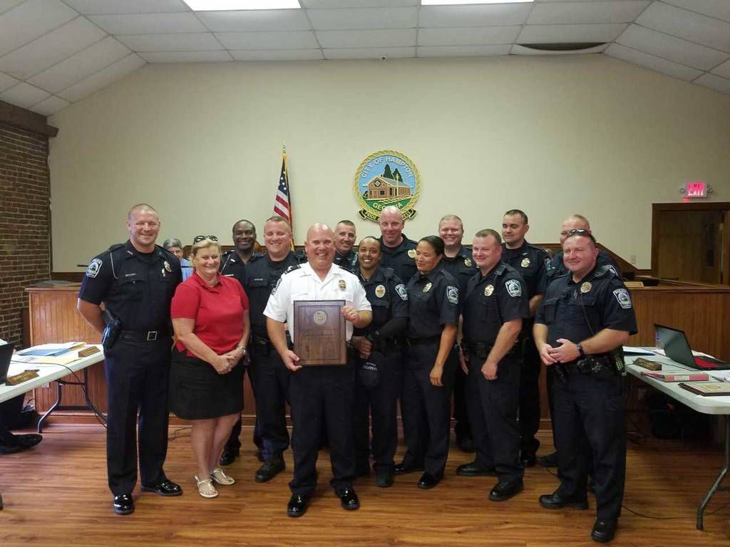 Hampton police department presented with state certification award hampton police department presented with state certification award xflitez Images