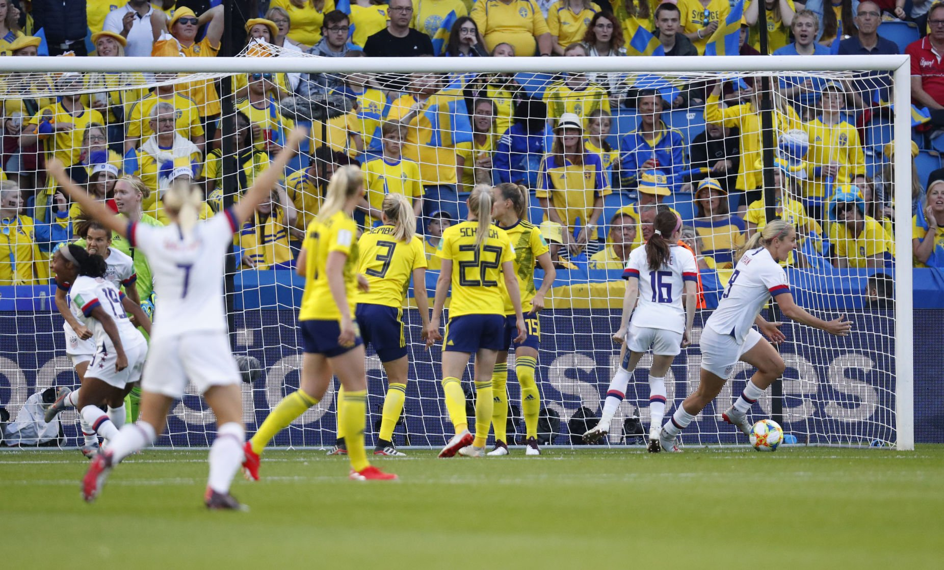 Soccer: Womens World Cup-USA at Sweden